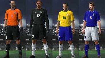 """PES 2009 """"Brazil 99-01 Kit Set by odiney"""""""