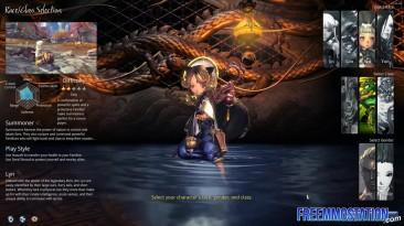 Blade & Soul - Обзор и создание персонажей (US Alpha Oct 2015)