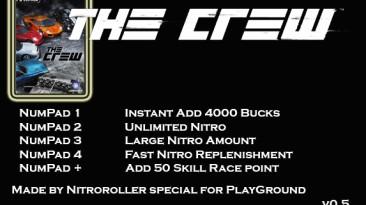 The Crew: Трейнер/Trainer (+5) [406801] {nitroroller}