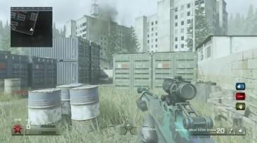 Что будет если играть со слепым рачелой 1v1 (Call of Duty 4: Modern Warfare remaster)