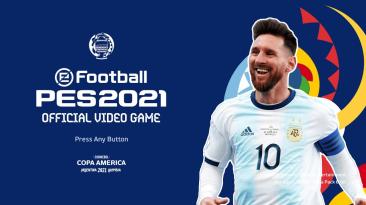 "PES 2021 ""Меню Copa America 2021"""