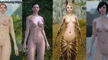 """Arche Age """"Nude Mod"""""""