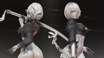 Новый мод позволяет пройти Dark Souls 3 за 2B