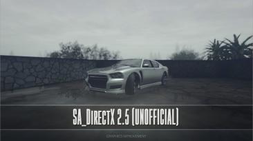 "Grand Theft Auto: San Andreas ""SA DirectX 2.5 (UnOfficial)"""