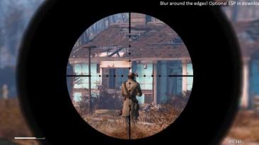"""Fallout 4 """"Обновленный вид прицела и эффекты"""""""