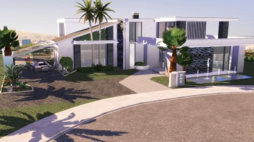 """The Sims 4 """"Вилла из Beverly Hills"""""""