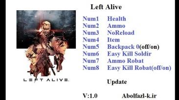 Left Alive: Трейнер/Trainer (+8) [1.0] {Abolfazl.k}