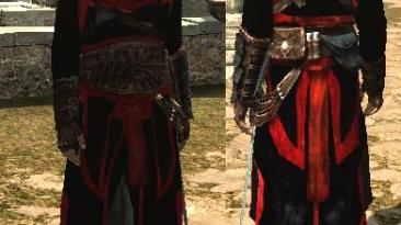 "Assassin's Creed: Brotherhood ""альтаир черно-красный костюм"""