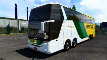 "Euro Truck Simulator 2 ""Comil HD SCANIA 8x2 v4.05 (1.40.x)"""