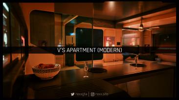 """Cyberpunk 2077 """"Современные апартаменты Ви"""""""