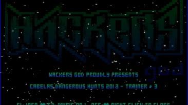 Cabela's Dangerous Hunts 2013: Трейнер/Trainer (+3) [1.0] {Hacker's God}
