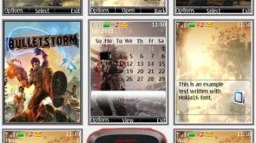 "Bulletstorm ""Theme for Nokia s40 240x320"" by Yurax"
