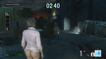 "Resident Evil Resistance ""Валери без трусиков"""