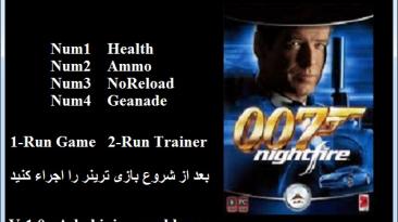 James Bond 007: Nightfire: Трейнер/Trainer (+4) [1.0] {Abolfazl.k}