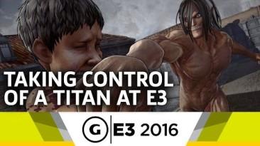 Attack on Titan - Новое видео с игровым процессом