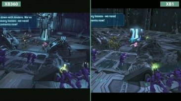 Halo Wars -Сравнение Original Xbox 360 vs. Xbox One Definitive Edition (Candyland)