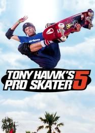 Обложка игры Tony Hawk's Pro Skater 5