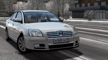 "City Car Driving ""Toyota Avensis 2.0 D4-D (v1.5.8 - 1.5.9.2)"""