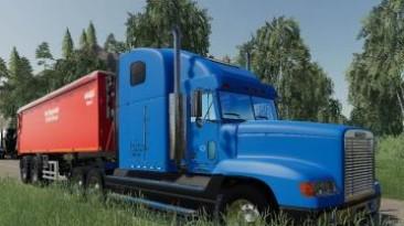 "Farming Simulator 19 ""Мод Freightliner Classic v1.0"""