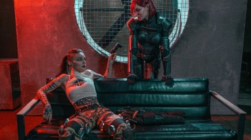 Свежий косплей на Джек и Шепарда из Mass Effect