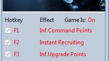 Command & Conquer 4 ~ Tiberian Twilight: Трейнер/Trainer (+3) [1.5.3729] {MrAntiFun}