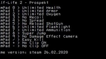 Half-Life 2 - Prospekt: Трейнер/Trainer (+12) [Steam] {LIRW / GHL}