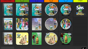 "The Sims 2: Bon Voyage ""Иконки (ArtGamer)"""