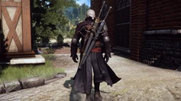 """Witcher 3: Wild Hunt """"Vagabond Armor DLC Новая броня с плащом"""""""