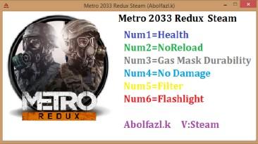 Metro 2033 Redux: Трейнер/Trainer (+6) [1.0.0.3] {Abolfazl.k}