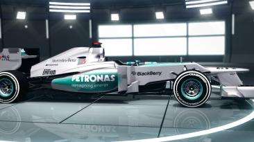"""F1 2012 """"Mercedes AMG F1 W04 2xHD"""""""