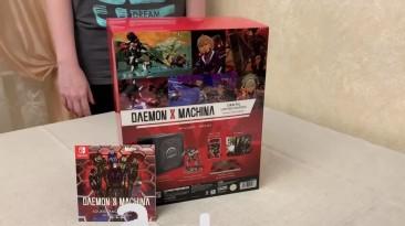 "Распаковка Daemon x Machina: ""Orbital Limited Edition"""