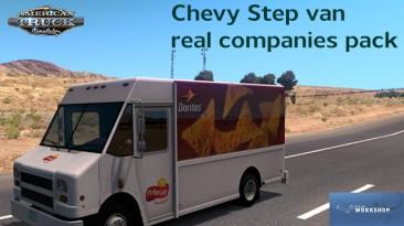 """American Truck Simulator """"Фургоны Chevy Step Van pack in Traffic ATS 1.37.x"""""""