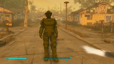 "Fallout 4 ""Броня из StarShip Troopers Invasion"""