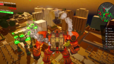 Обширное геймплейное видео Earth Defense Force: World Brothers