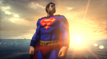 """Batman: Arkham Knight """"SUPERMAN Skin MOD"""""""