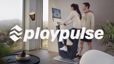 Playpulse One - новый хит продаж. Это велотренажер, консоль и мультимедийный центр.