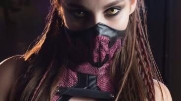 Хороший косплей на Милину из Mortal Kombat