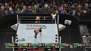 "WWE 2K16 ""Необычный матч с лестницами\ Ladder Match"""