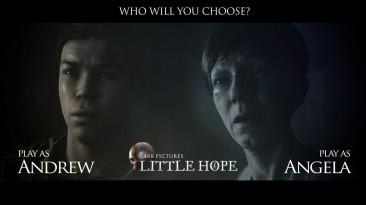 Интерактивный трейлер The Dark Pictures Anthology: Little Hope