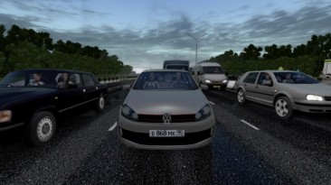 "City Car Driving ""VW Golf 6 для трафика (v1.5.9 - 1.5.9.2)"""