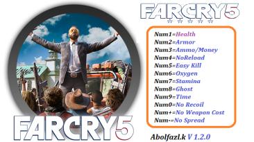 Far Cry 5: Трейнер/Trainer (+12) [1.2.0] {Abolfazl.k}