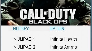 Call of Duty - Black Ops: Трейнер/Trainer (+4) [1.1] {24K/PlayGround.ru}