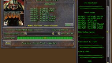 Doom 3: Трейнер/Trainer (+7) [v.1.3 / 1.3.1/ *STEAM] {h4x0r}