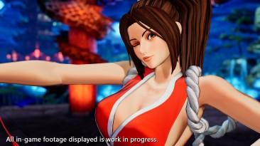 Прекрасная Мэй Ширануи в новом трейлере The King of Fighters XV