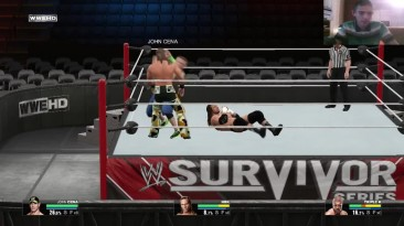 WWE 2K15 Survivor Series 2009 John Cena vs Triple H vs Shawn Michaels