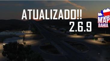 "Euro Truck Simulator 2 ""Карта: Баия v2.6.9 (v1.40.x)"""