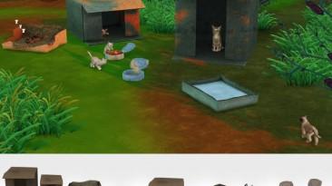 """Sims 4 """"Объекты для бездомных питомцев"""""""