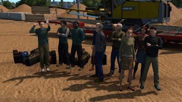"""Euro Truck Simulator 2 """"Пасажиры для версии (v1.38.x)"""""""
