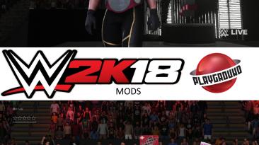 """WWE 2K18 """"Seth Rollins + 9 Attire Pack MOD"""""""