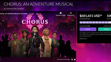 Chorus: An Adventure Musical быть!